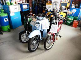 Auch Mopeds und Mofas sind zu sehen