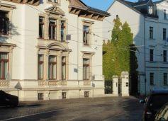 Grüne Wand in Gohlis (Menckestraße)