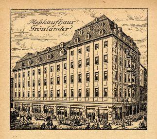 Der Grönländer im 1920er Mess-Adressbuch, Band V