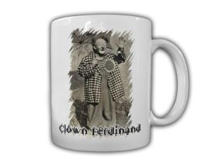 Clown-Ferdinand-Kaffeebecher