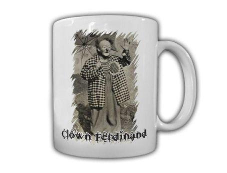Clown-Ferdinand-Kaffeebecher