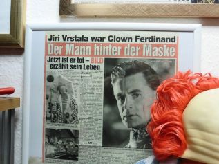 Clown-Ferdinand-Bereich im Clown-Museum