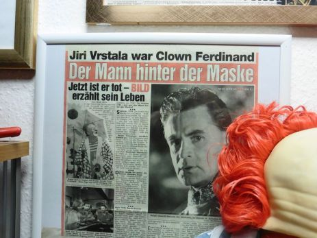 Clown-Ferdinand-Bereich im Clown-Museum