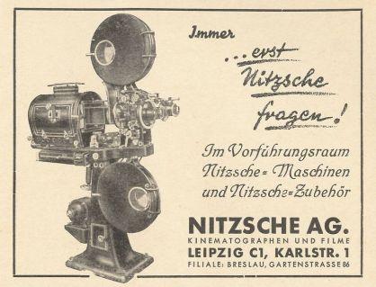 Flimhaus Nitzsche, Karlstraße (Archiv JR)