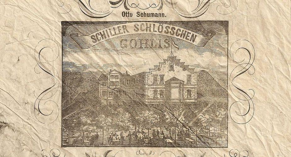 Serviette von 1884