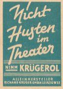 Krügerol-Anzeige vom Dezember 1964
