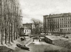 Reichenbachs Badehaus um 1868 (Abb.: Archiv Böhme)