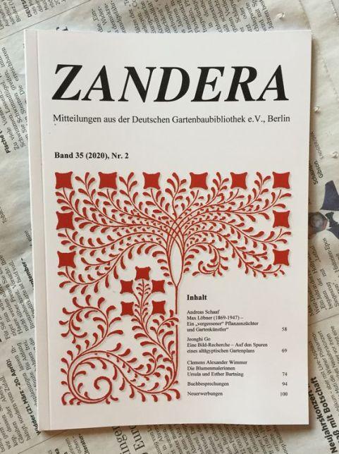 """Die Zeitschrift """"Zandera"""""""