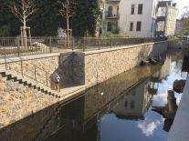 Elstermühlgraben in der Thomasiusstraße