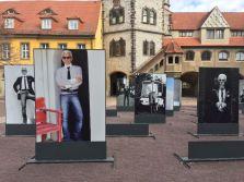Karl-Lagerfeld-Schau in Halle, März 2020