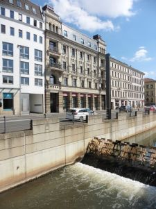 Pleißemühlgraben an der Harkortstraße