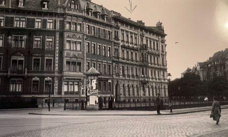 Die Lampestraße 2 vor dem Zweiten Weltkrieg