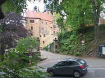 Unterwegs an der Burg Kriebstein