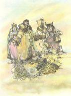 Illustration aus einem georgischen Märchenbuch von 1958