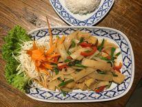 Thailändisches Gericht im Reunthai