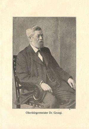 """Otto Georgi im Buch """"Leipzig als Groß-Stadt"""" (1921)"""