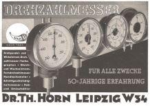 Horn-Werbung von 1938