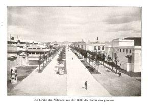 Straße der Nationen 1914 (Richtung Reitzenhainer, heute Prager Straße)