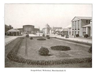 Auf dem Bugra-Gelände 1914