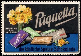 Leipziger Reklamemarke, Quelle: veikkos.com