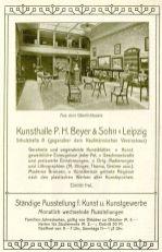 Beyers Kunsthandlung im Leipziger Kalender von 1906