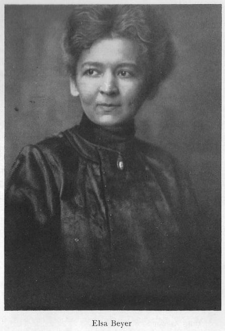 Elsa Beyer (Archiv A. Beyer)