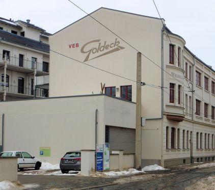 Giebel in der Menckestraße