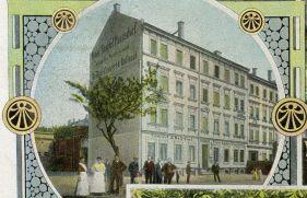 Neuer Gasthof Paunsdorf um 1900 (Archiv F. Gottert)