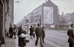 Eisenbahnstraße 1980, Foto: Harald Stein (Wortblende)