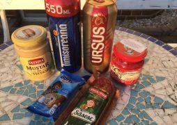 Rumänische Lebensmittel in Schönefeld gekauft