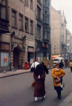 1991: Narva-Ruine in der Hainstraße