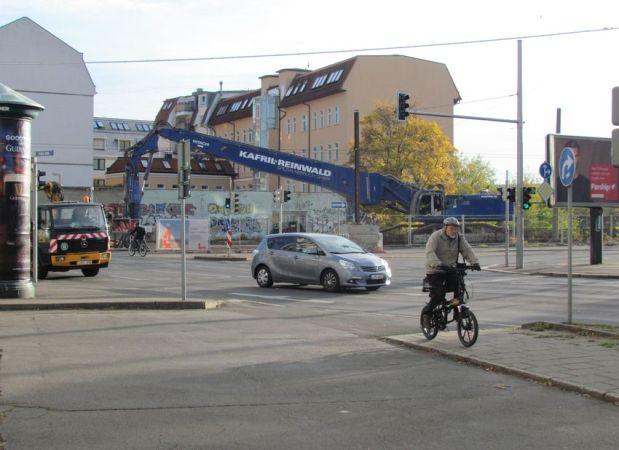 Eingang zur Berliner Straße Nov. 2018