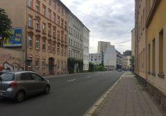 Berliner Straße im August 2021