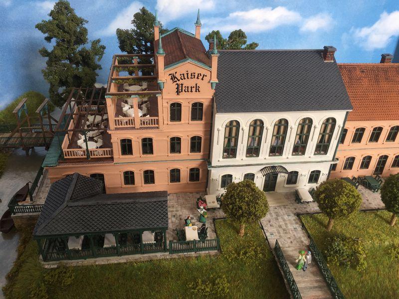 Kaiserpark in Gohlis, Nachbau: Dietrich Boddin
