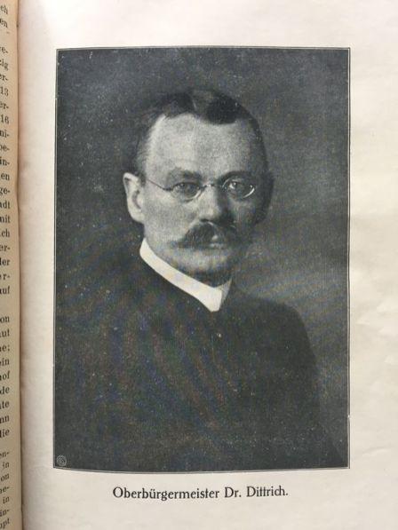 OBM Dittrich in Heilands Buch von 1921