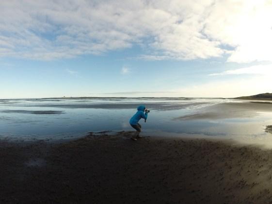Fotos am schwarzen Strand....