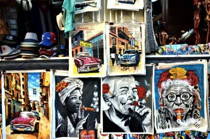 Die Märkte von Havanna...