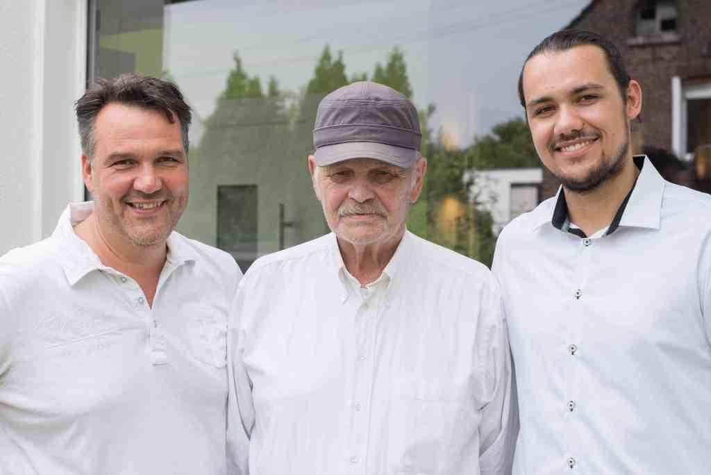 Eine Familie - drei Generationen - Viel Erfahrung bei Gehlings Bausysteme GmbH Krefeld