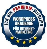 WordPress Akademie Premium Mitglied