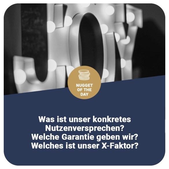 NutzenversprechenX Faktor Gehrke & Vetterkind Consultants