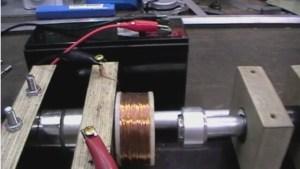 Spule zwischen Magneten gleicher Polung