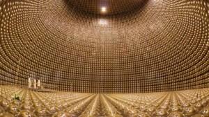 Neutrino Detektor in Japan Super Kamiokande