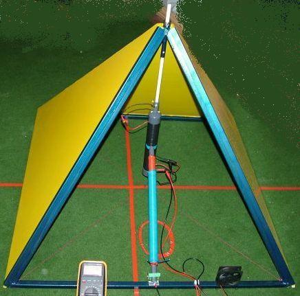 Strompyramide V12 Versuchsaufbau 436x436