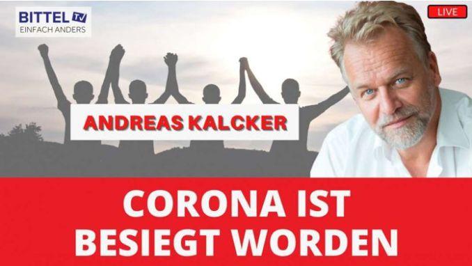 LIVE – Interview mit Andreas Kalcker – Corona ist besiegt worden
