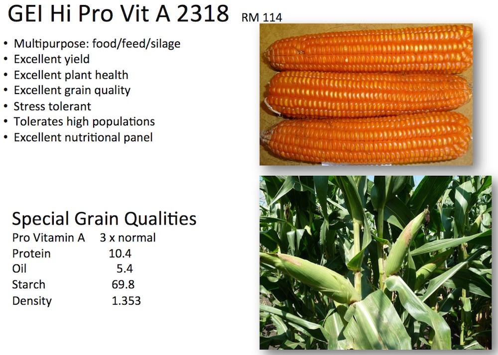 Special Grain Qualities