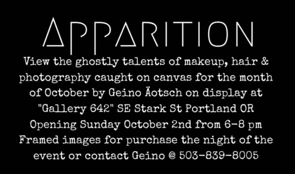 Apparition Event