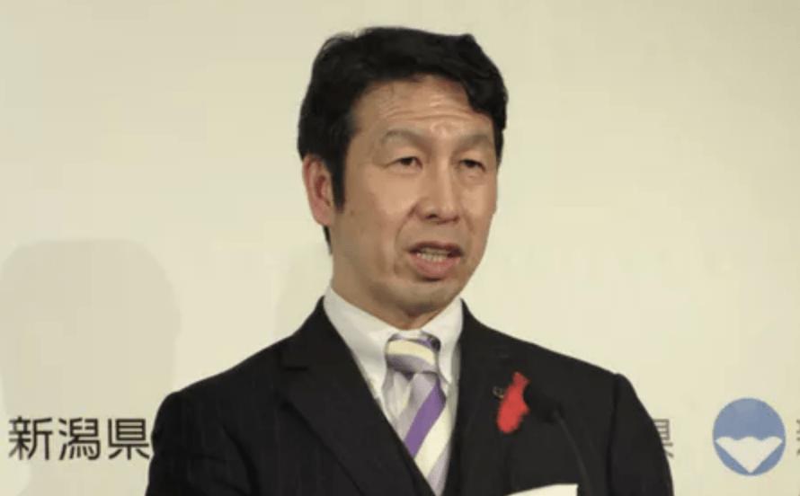 米山新潟県知事
