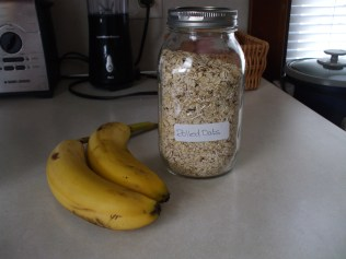 All you need is bananas and oats!