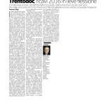 06-02-2017 Corriere imprese Trentino Alto Adige Trentodoc ricavi 2016 in lieve flessione