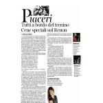 16-07-2016 Corriere dell'Alto Adige Tutti a bordo del trenino Cene speciali sul Renon